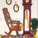 Grandmas Rocking Chair Rocking Chair Room Crewel Embroidery Kit