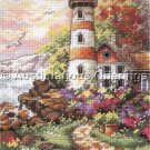 Rare Orpinas Oceanside Day Break Counted Cross Stitch Kit Light House