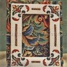 Classic Floral Design Photo Frame Stitchery Kit