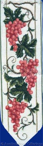 Rare LeClair Muscat Grapes Needlepoint Bellpull Kit Grapevine