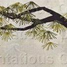 Rare Oriental Ming Tree Crewel Embroidery Kit Asian Interest