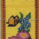 Vintage Floral Butterfly Needlepoint BellPull Kit