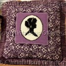 RARE VICTORIANA EXQUISITE CAMEO NEEDLEPOINT PILLOW KIT SOWELL SILHOUETTE