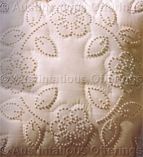 Pearl Jacobs Quilted Candlewicking Crewel Embroidery Kit