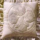 Pearl Jacobs Quilted Candlewicking Crewel Embroidery Kit Floral Basket