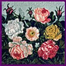Rare RJ Thornton Floral Study Needlepoint Kit Roses and Dragonfly Smithsonian Collection