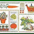 Vegetable Garden Sampler Crewel Embroidery Kit Diner Fun Garden Patch