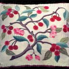 Rare Williams Cherry Tree Branch Crewel Embroidery Kit WHI London Suitable for Experienced Beginner
