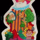 Rare Wilson Traditional Radko Troubadour Ornament Santa Hand Painted Needlepoint Canvas Kitted