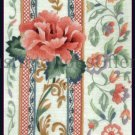 Rare Judy Hand Traditional Rose Scrolling Flourish Crewel Embroidery Kit
