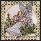 Rare Teresa Wentzler Seasons Fairy Cross Stitch Kit Winter Holly Faerie