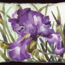 Rare Palmer Dramatic Deep Purple Iris Floral Crewel Embroidery Kit Williams