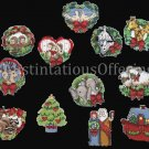 Rare Inspirational Noah Christmas Ornaments Cross Stitch Kit Ann Craig
