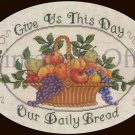 Rare LeClair Inspirational Prayer Cross Stitch Kit Williams Daily Bread Gratitude
