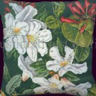 Rare Kew Art Repro Rhododendrons and Honeysuckle Counted Needlepoint Tapestry Kit Exquisite Floral