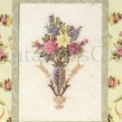 ANNA GRIFFIN SILK RIBBON PINK ROSES SILK RIBBON CREWEL EMBROIDERY KIT