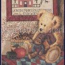 RARE KRAJEWSKI ANTIQUE TEDDY BEAR COUNTED CROSS STITCH KIT