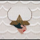 Marj Hunter Deco Ladies Amy Bunger Stitch Guides Deco Hat Needlepoint Kit  Phoebe Bathing Cap