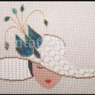 Marj Hunter Deco Ladies Amy Bunger Stitch Guides Deco Hat Needlepoint Kit  Samantha Bird Pin