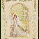Rare Fincher  Bridal Wedding Sampler Counted Cross Stitch Kit From This Day Forward