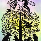 Deborah Street Fairy Tale Cross Stitch Kit Thumbelina Silhouette