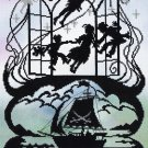 Deborah Street Fairy Tale Cross Stitch Kit Peter Pan Silhouette