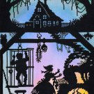 Deborah Street Fairy Tale Cross Stitch Kit Hansel and Gretel Silhouette