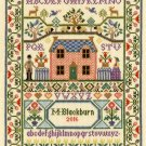 Moira Blackburn Traditional Sampler Cross Stitch Kit Bothy Country Cottage
