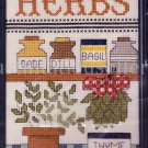 Rare Treglown Kitchen Counted Cross Stitch Kit Herbs Dill Basil Sage And Thyme