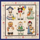 Cats are Cute McChesney Floss Crewel Embroidery Kit Kitty Cat Sampler
