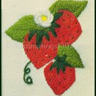 Rare Betty Miles Fruit on the Vine Crewel Embroidery Kit Strawberries