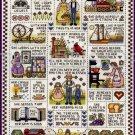 Inspirational Virtuous Woman Deb Lambein Cross Stitch Sampler Kit Proverbs 31