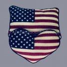 Beginning Crafter Patriotic Americana Heart Quilting Pillow Kit USA Flag