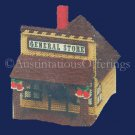 RARE GENERAL STORE MUSICAL BUILDING PLASTIC CANVAS NEEDLEPOINT KIT