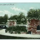 Gladwin Park Detroit Michigan MI  postcard 1914