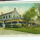 Vintage Postcard De Lisles French Restaurant Inn Allaire NJ New Jersey Shark River