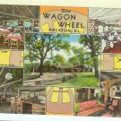 Rockton Illinois IL Postcard USA The Wagon Wheel Lodge