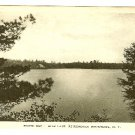 Star Lake Adirondack Mts NY postcard South Bay Albertype B&W