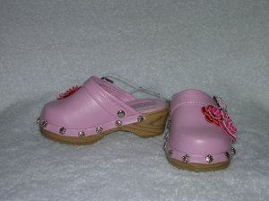 Circo Malina Girl's Pink Clogs Size 6