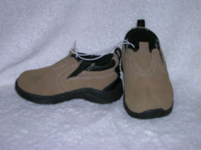 Cherokee Liam Boy's Taupe Slipons Size 6