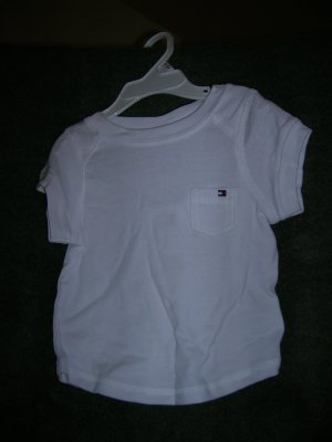 Tommy Hilfiger Infant Girls Kimberly Tee 18-24 White