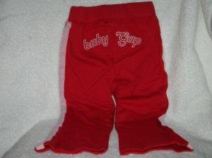 Side stripe pants/modern red/18-24 M