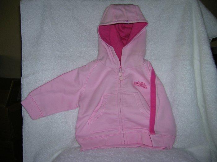Gap Active hoodie/pink bloom/3-6M