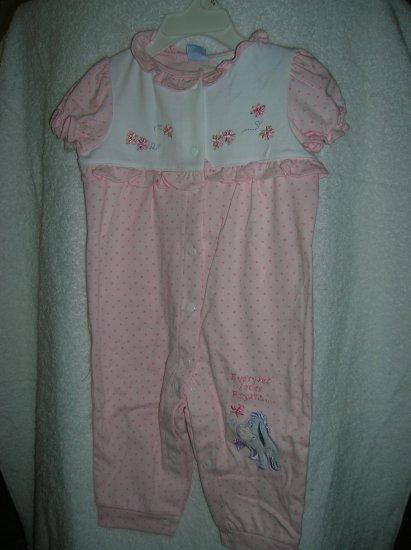 Pooh Pant Set Call Pink 6-9 Mont Girls Disney Coverall/Socks