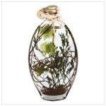 Flower Oil Lamp 34606