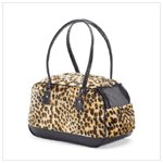 New! Leopard Pattern Pet Carrier37110
