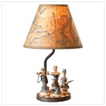 Civil War Soldier Lamp 37627