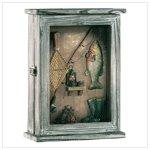 Fishing Shadowbox Key Cabinet 33175