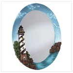 Lighthouse Oval Wall Mirror 34094