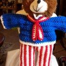 Wilbur the Patriotic Teddy Bear